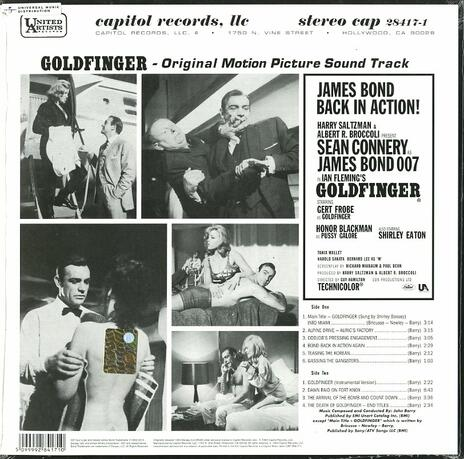 Goldfinger (Colonna sonora) (180 gr. Limited Edition) - Vinile LP di John Barry - 2