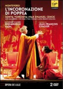 Claudio Monteverdi. L'incoronazione di Poppea (2 DVD) di Jean-François Sivadier - DVD