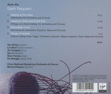 Earth Requiem - CD Audio di Michel Plasson,China National Symphony Orchestra,Guan Xia - 2