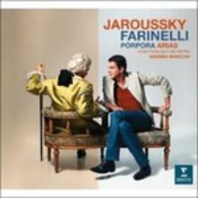 Farinelli. Porpora Arias - CD Audio di Venice Baroque Orchestra,Andrea Marcon,Nicola Antonio Porpora,Philippe Jaroussky