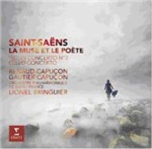 Concerto per violino e orchestra n.3 - Concerto per violoncello e orchestra n.1 - CD Audio di Camille Saint-Saëns,Renaud Capuçon,Gautier Capuçon,Orchestra Filarmonica di Radio France
