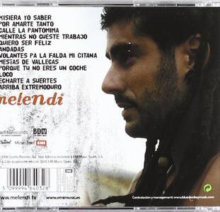 Mientras no cueste trabajo - CD Audio di Melendi - 2