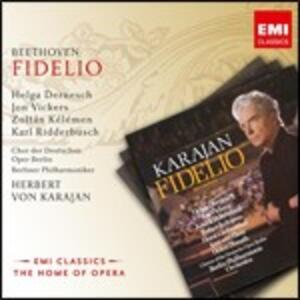 Fidelio - CD Audio di Ludwig van Beethoven,Herbert Von Karajan,Berliner Philharmoniker,Helga Dernesch,Jon Vickers