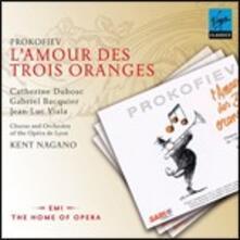 L'amore delle tre melarance - CD Audio di Sergej Sergeevic Prokofiev,Kent Nagano