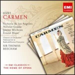 Carmen - CD Audio di Georges Bizet,Nicolai Gedda,Victoria De Los Angeles,Sir Thomas Beecham