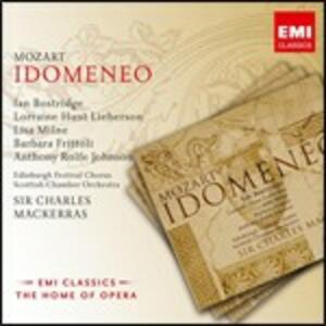 Idomeneo - CD Audio di Wolfgang Amadeus Mozart,Ian Bostridge,Barbara Frittoli,Lorraine Hunt Lieberson,Sir Charles Mackerras,Scottish Chamber Orchestra