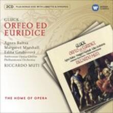 Orfeo ed Euridice - CD Audio di Christoph Willibald Gluck,Edita Gruberova,Agnes Baltsa,Margaret Marshall,Riccardo Muti,Philharmonia Orchestra