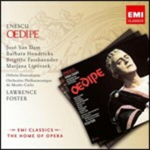 Oedipe - CD Audio di George Enescu,Lawrence Foster