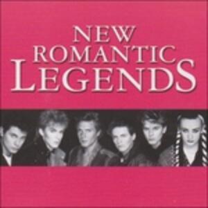 Legends New Romantics - CD Audio