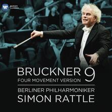 Sinfonia n.9 - CD Audio di Anton Bruckner,Berliner Philharmoniker,Simon Rattle