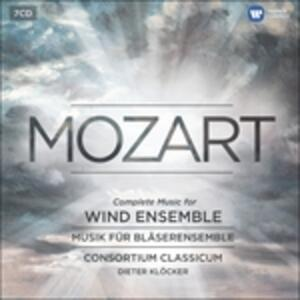 Music for Wind Instrument - CD Audio di Wolfgang Amadeus Mozart