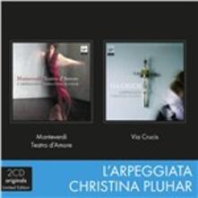 Teatro d'amore - Via Crucis - CD Audio di Claudio Monteverdi,Christina Pluhar,L' Arpeggiata