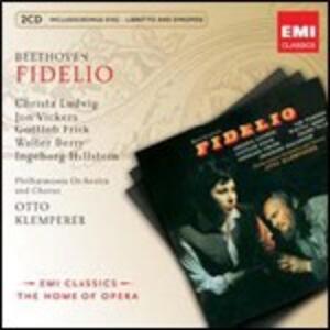 Fidelio - CD Audio di Ludwig van Beethoven,Christa Ludwig,Jon Vickers,Gottlob Frick,Otto Klemperer,Philharmonia Orchestra