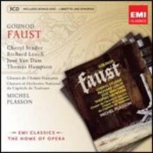Faust - CD Audio di Charles Gounod,Thomas Hampson,Cheryl Studer,José Van Dam,Richard Leech,Michel Plasson,Orchestre du Capitole de Toulouse