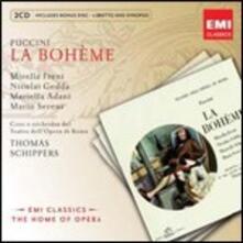 La Bohème - CD Audio di Giacomo Puccini,Mirella Freni,Nicolai Gedda,Thomas Schippers,Orchestra del Teatro dell'Opera di Roma