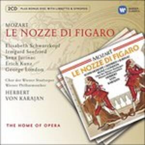 Le nozze di Figaro - CD Audio di Wolfgang Amadeus Mozart,Herbert Von Karajan,Elisabeth Schwarzkopf,Irmgard Seefried,Sena Jurinac,George London,Erich Kunz,Wiener Philharmoniker