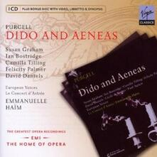 Dido and Aeneas - CD Audio di Henry Purcell,Susan Graham,Ian Bostridge,Emmanuelle Haim,Le Concert d'Astrée