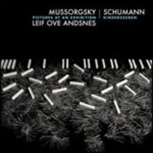 Quadri di un'esposizione / Kinderszenen (Luxury Edition con Libro) - CD Audio + DVD di Modest Petrovich Mussorgsky,Robert Schumann,Leif Ove Andsnes
