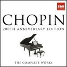 200th Anniversary Edition. The Complete Works - CD Audio di Fryderyk Franciszek Chopin