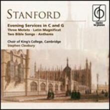 Evening Services - CD Audio di Stephen Cleobury,Sir Charles Villiers Stanford