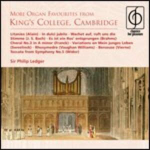 More Organ Favourites - CD Audio di Philip Ledger