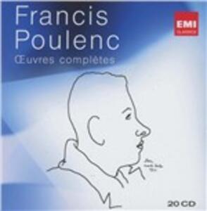 Opere complete - CD Audio di Francis Poulenc