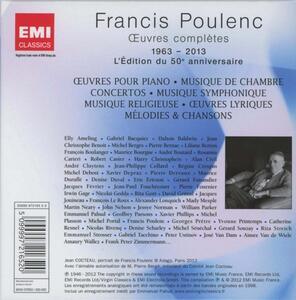 Opere complete - CD Audio di Francis Poulenc - 2