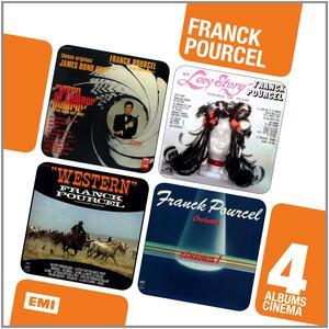 Coffret 4 Cd Cinema - CD Audio di Franck Pourcel