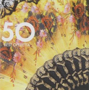 50 Best Operetta - CD Audio