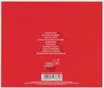 L'amour Fou - CD Audio di Françoise Hardy - 2