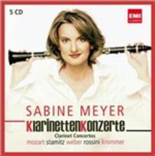 Clarinet Concertos - CD Audio di Sabine Meyer