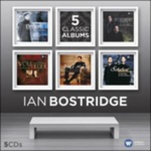 Ian Bostridge. 5 Classic Albums - CD Audio di Ian Bostridge