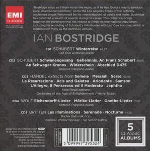 Ian Bostridge. 5 Classic Albums - CD Audio di Ian Bostridge - 2
