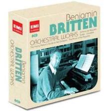Orchestral Works - CD Audio di Benjamin Britten,Simon Rattle