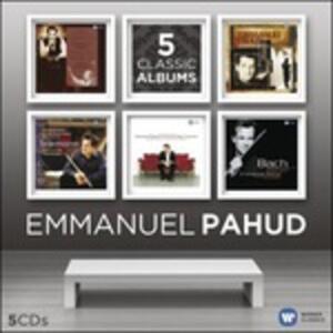 Emmanuel Pahud. 5 Classic Albums - CD Audio di Emmanuel Pahud