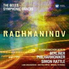 Le campane - CD Audio di Sergej Vasilevich Rachmaninov,Berliner Philharmoniker,Simon Rattle