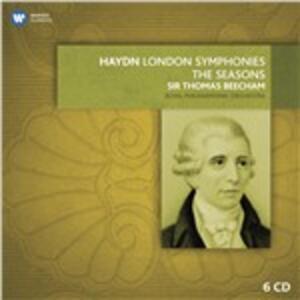 Sinfonie 93-104 - CD Audio di Franz Joseph Haydn,Sir Thomas Beecham,Royal Philharmonic Orchestra
