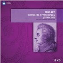 Sinfonie complete - CD Audio di Wolfgang Amadeus Mozart,English Chamber Orchestra,Jeffrey Tate