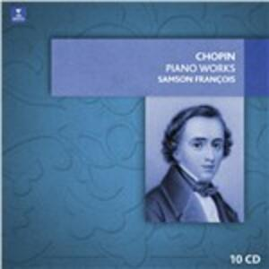 Piano Works - CD Audio di Fryderyk Franciszek Chopin,Samson François