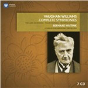 Le sinfonie complete - CD Audio di Ralph Vaughan Williams,Bernard Haitink,London Philharmonic Orchestra