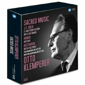 Musica sacra - CD Audio di Otto Klemperer