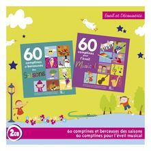60 Comptines des Saisons Et 60 Comptines Pour L'eveil Musical - CD Audio