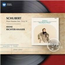 Sonate per pianoforte n.14 - n.19 - CD Audio di Franz Schubert,Hans Richter-Haaser