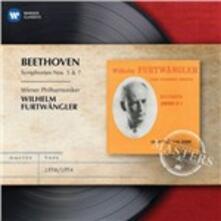 Sinfonie n.5, n.7 - CD Audio di Ludwig van Beethoven,Wilhelm Furtwängler