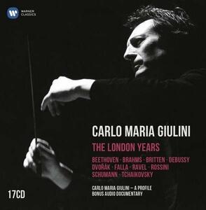 The London Years - CD Audio di Carlo Maria Giulini