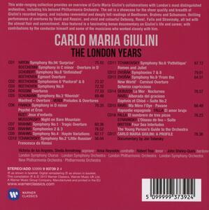 The London Years - CD Audio di Carlo Maria Giulini - 2