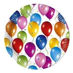 Baloon Fiesta. 10 Piatti 23 Cm