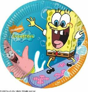 Spongebob. Set 10 piatti - 2