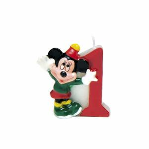 Mickey Party Time. Candelina Numerale N° 1 - 2
