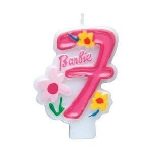 Barbie. Candelina Numero 7